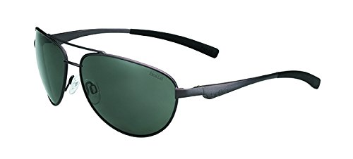 Bolle Columbus Sunglass with TNS Lens, Shiny - Sunglasses Bolla