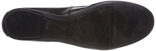 Women's Black Black Ballet Flats Tamaris 22165 Leather qwXCdnUR