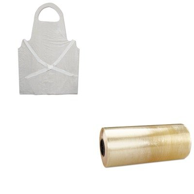 KITBWK390RFPSMP17 - Value Kit - Reynolds Meat-Wrap Film (RFPSMP17) and Boardwalk Disposable Apron (BWK390) by Reynolds (Image #1)