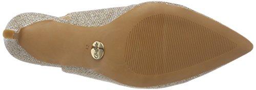 Buffalo Damen H733c-117 P1855d Glitter Slingback Pumps Oro (oro 01)