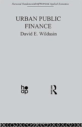 Urban Public Finance (Fundamentals of Pure and Applied Economics) (Vol 10)