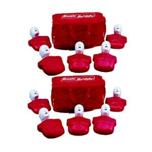 Basic Buddy 114 Piece CPR Manikin Kit (Pack of 10)