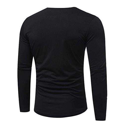 Base Thé En Fine Longues Cou V Pull Automne Sweat shirt Fit The T À Rétro Slim Longra Men Tricot Tapeta De Schwarz Tops Manches ZxOOndT