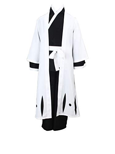 Mtxc Women's Bleach Cosplay Unohana Retsu 3rd Squad Four Captain Uniform Simplify Ver