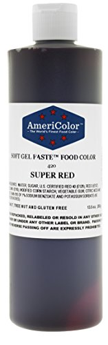Americolor Food Color Super Red 13.5 Oz