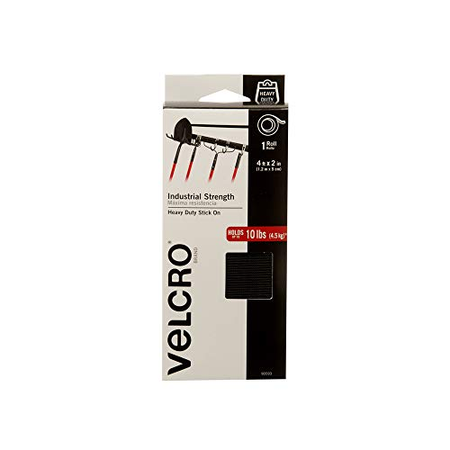 VELCRO Brand Industrial Strength Fasteners, Tape, 4ft x 2in (Pack of 1)