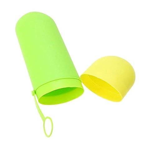 Broadroot portátil vaso para cepillo de dientes pasta de dientes caja estuche de viaje de almacenamiento organizador: Amazon.es: Hogar