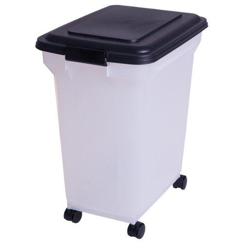 Iris 101441 Luftdichte Pet-Futtertonne, Futtercontainer, Futterbehälter - 45 Liter / 15 KG