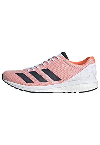 adidas Adizero Boston 8 Shoes Men's, White, Size 11.5