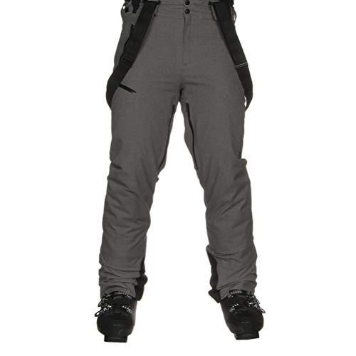 (Spyder Men's Bormio Pants Wool Blend Twill/Black Medium)