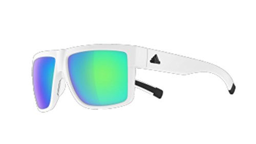Adidas a427 6065 White 3Matic Square Sunglasses Golf, Running, Lens Category -