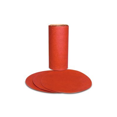 3M(TM) Red Abrasive PSA Disc, 01608, 5 in, P120 A Weight, 100 discs per roll Review
