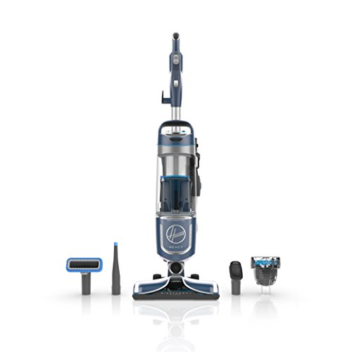 Hoover React Professional Pet Plus Bagless Upright Vacuum Cleaner, for Dog and Cat, with 30ft. Power Cord, UH73220PC, Blue