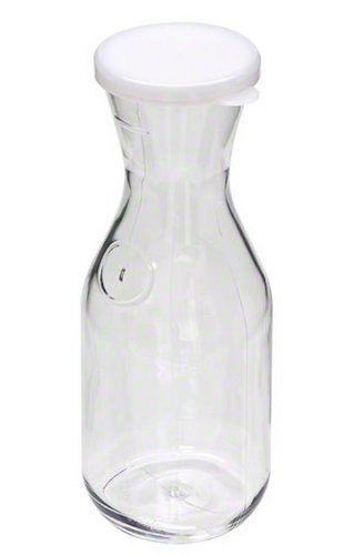 Cambro Camliter Beverage Decanter with Lid - 1 Liter ()