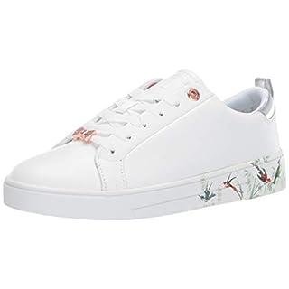 Ted Baker Women's Roully Sneaker, White Fortune, 9.5 Regular US