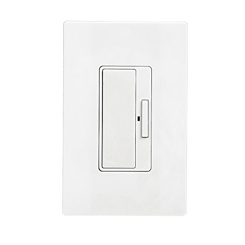 Eaton RF9575DW Z-Wave Anyplace Decorator Switch Battery Operated, White