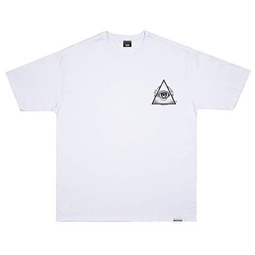 Camiseta Wanted - In God Trust Branco Cor:Branco;Tamanho:GG