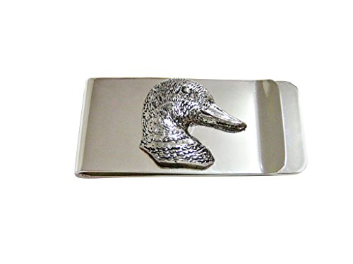 Mallard Duck Head Money Clip (Money Clip Duck)
