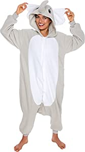 Elephant Adult Costume Pajamas