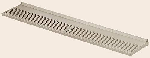 スリムアートR300 ユニットひさし 24303 W:2,480mm × D:300mm 製品色:ホワイト(W) 金属サイディングアタッチメント:なし LIXIL リクシル TOSTEM トステム