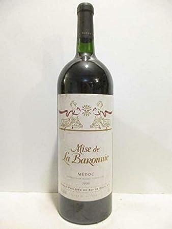 magnum 150 cl médoc mise de la baronnie baron philippe de rothschild rouge 1999 - bordeaux