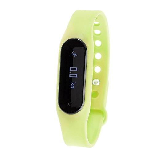 Zunammy TR027 Wireless Heart Rate Monitor and Activity Fitness Tracker Watch - Green