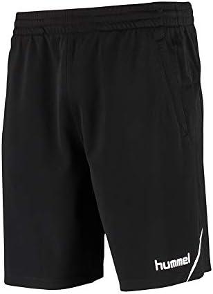 hummel AUTH. Charge Training Shorts Pantalones Cortos, Hombre, Negro, Large