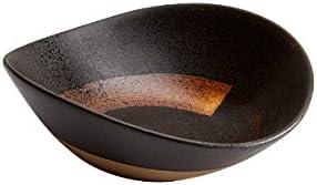 Black Fairmont /& Main Raw 16cm Freestyle Bowl Ceramic 14 x 16 x 5.3 cm