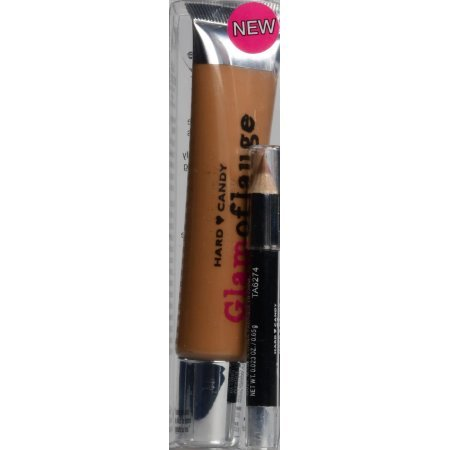 (Hard Candy Glamoflauge Heavy Duty Concealer with Pencil, 1222)