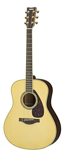Yamaha L-Series LL6 Acoustic-Electric Guitar – Rosewood, Dreadnought, Natural