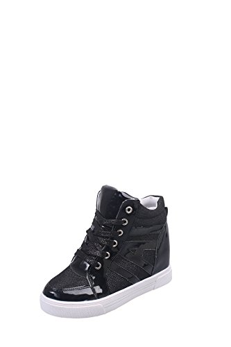 KHSKX-Stealth Increased Women'S Shoes Breathable High Shoes Korean Tide Students Lounge Thirty-six a6ylFgKMpQ