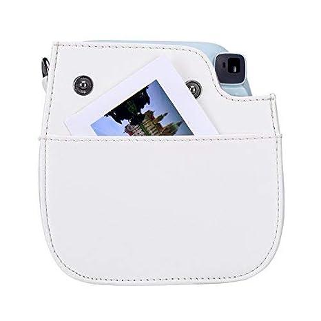 Goocor PU Cuero Instax Mini 8 Carcasa de La C/ámara para Fujifilm Instax Mini 8 Mini 8 Menta // Mini 9 C/ámara Instant/ánea con Correa Ajustable