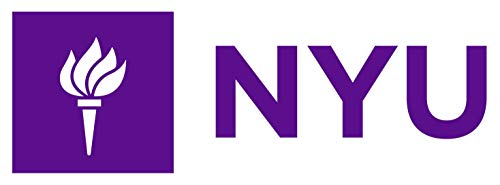 NYU Liberty Torch Logo (Horizontal) - Vinyl - 7 Inches (Color: Purple) Decal Laptop Tablet Skateboard Car Windows Stickers (7 Windows Sticker)