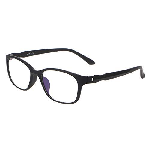 chuwa Reading Glasses Blue Light Blocking Glasses Unisex Fashion Anti Blue Rays Eye Glasses Men High Quality TR90 Eyewear Prescription +1.0 ~ +4.0 (Big Fashion Lesebrille)