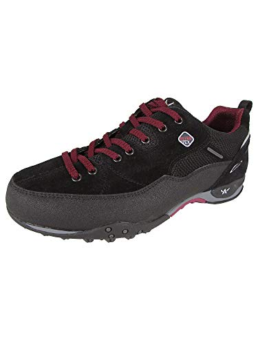 Allrounder by Mephisto Men's Tacco Tex Black Rubber/Suede 43.5 M EU