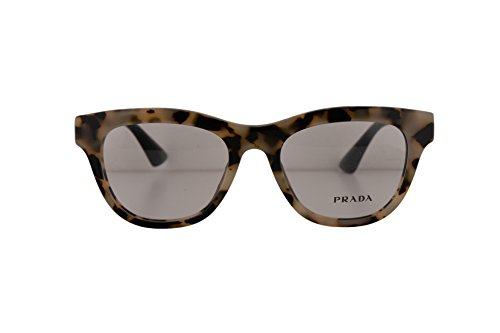 Prada PR04QV Eyeglasses 49-18-140 White Havana KAD1O1 VPR04Q For Women (FRAME - Www Tiffanyco