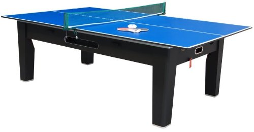 Amazoncom In Multi Game Table In Black By Berner Billiards - Pool ping pong dining table combo