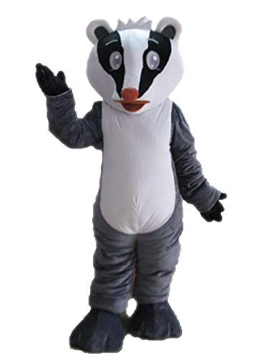 ARISMASCOTS Funny Adult Size Badger Mascot Costume for Party Sports and Team Mascots Deguisement Mascotte]()
