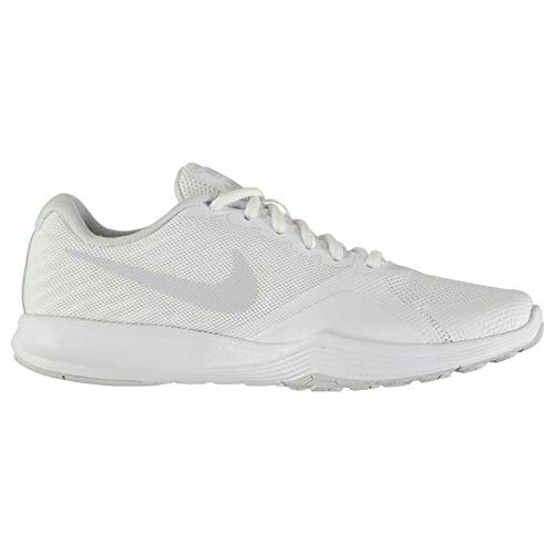 Fitnesss femme Gym Nike pour Shoes Baskets d'entraînement Official Chaussures Blanc City platine Sneakers qatRZw