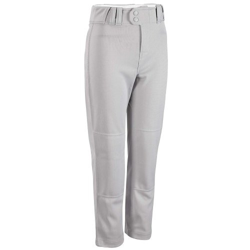 Rawlings Youth Relaxed Fit YBP350MR Baseball Pant, Blue Grey, Youth Small ()