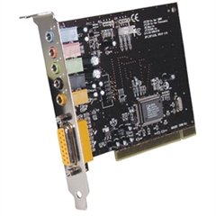 (inland 58019 ThunderSound 5.1-Channel PCI Sound)