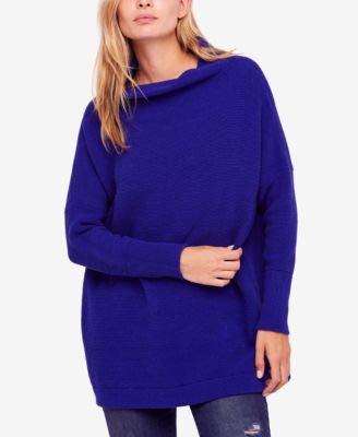 Free People Women's Ottoman Slouchy Tunic, Blue, Small