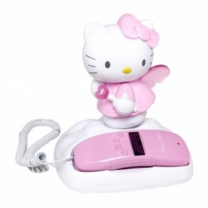 Telephone Hello Kitty (Jensen KT2010A Corded Telephone With Caller Id Memory)