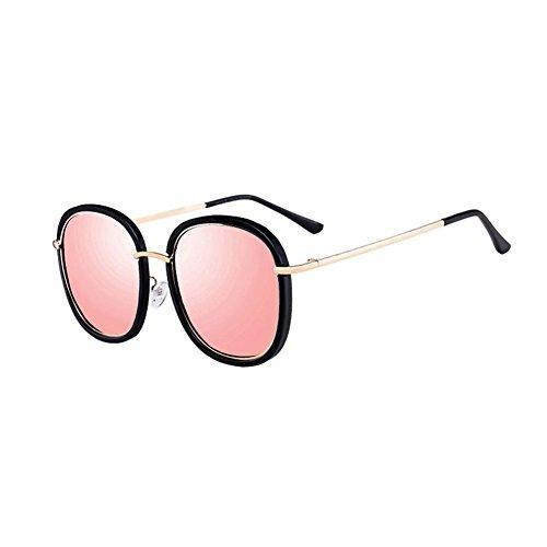 Gafas Gafas Sol de Gafas DT Sol 5 Cara 2 Mujer Gafas de Rosa Redonda Color de Sol 8xwF0FIvzg