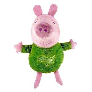 Peluches Peppa Pig 30cm Peppa Pig George dinosaurio verde