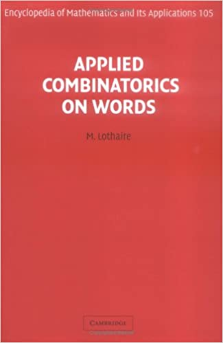 Amazon applied combinatorics on words encyclopedia of amazon applied combinatorics on words encyclopedia of mathematics and its applications 9780521848022 m lothaire books fandeluxe Choice Image