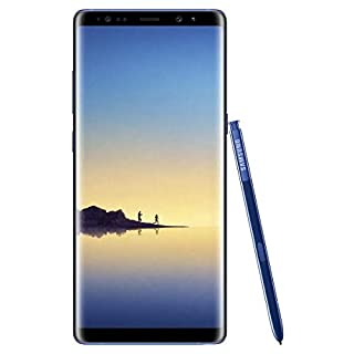 Samsung Galaxy Note 8, 64GB, Deepsea Blue - For AT&T / T-Mobile (Renewed)