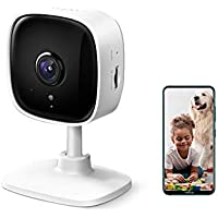 TP-Link Tapo Home Security Wi-Fi Camera - 1080p, Night Vision, Sound & Light Alarm, 2-Way Audio, 24/7 Live View, Voice…