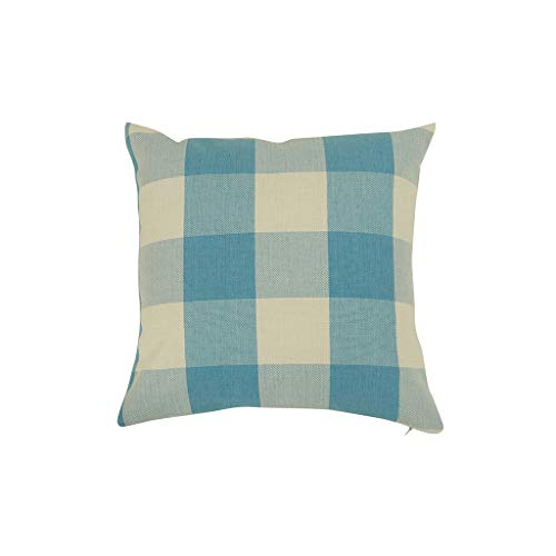 - Baulody Black and White Buffalo Check Plaids Linen Cotton Pillow Cover Cushion, 18