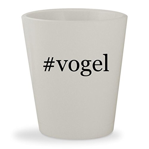 #vogel - White Hashtag Ceramic 1.5oz Shot - Jim Sunglasses Mia